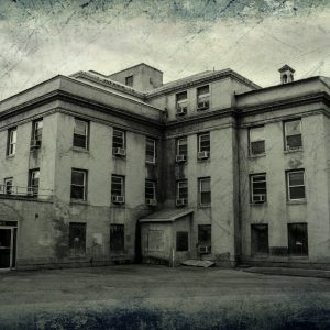 Old Hospital on College Hill Featured